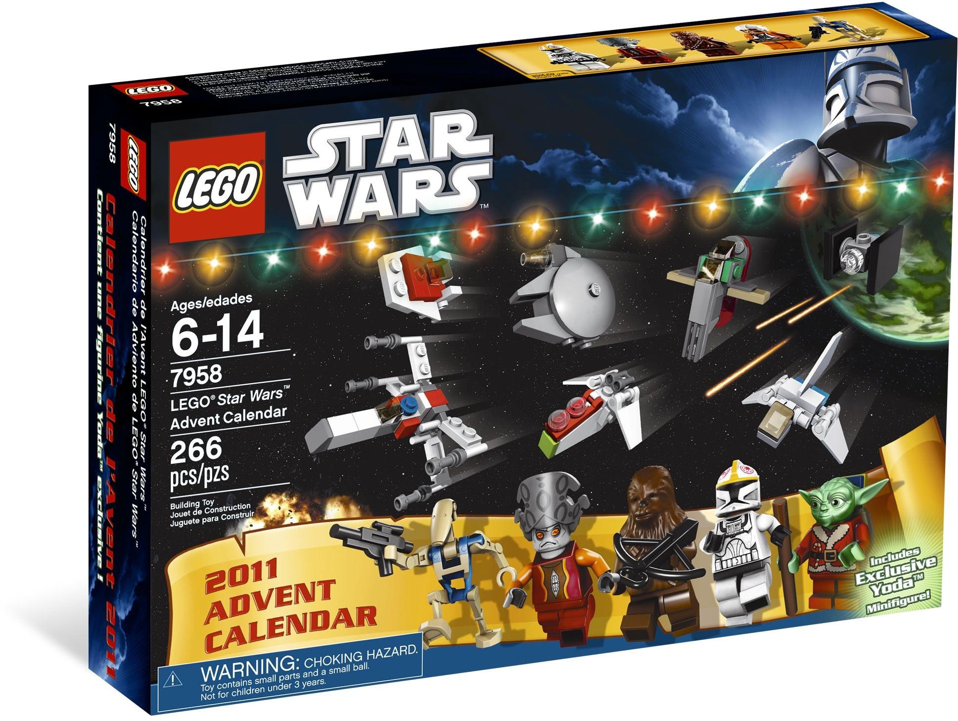 7958: Star Wars Advent Calendar 2011 | Lego Star Wars within Lego Star Wars Advent Calendar 2013