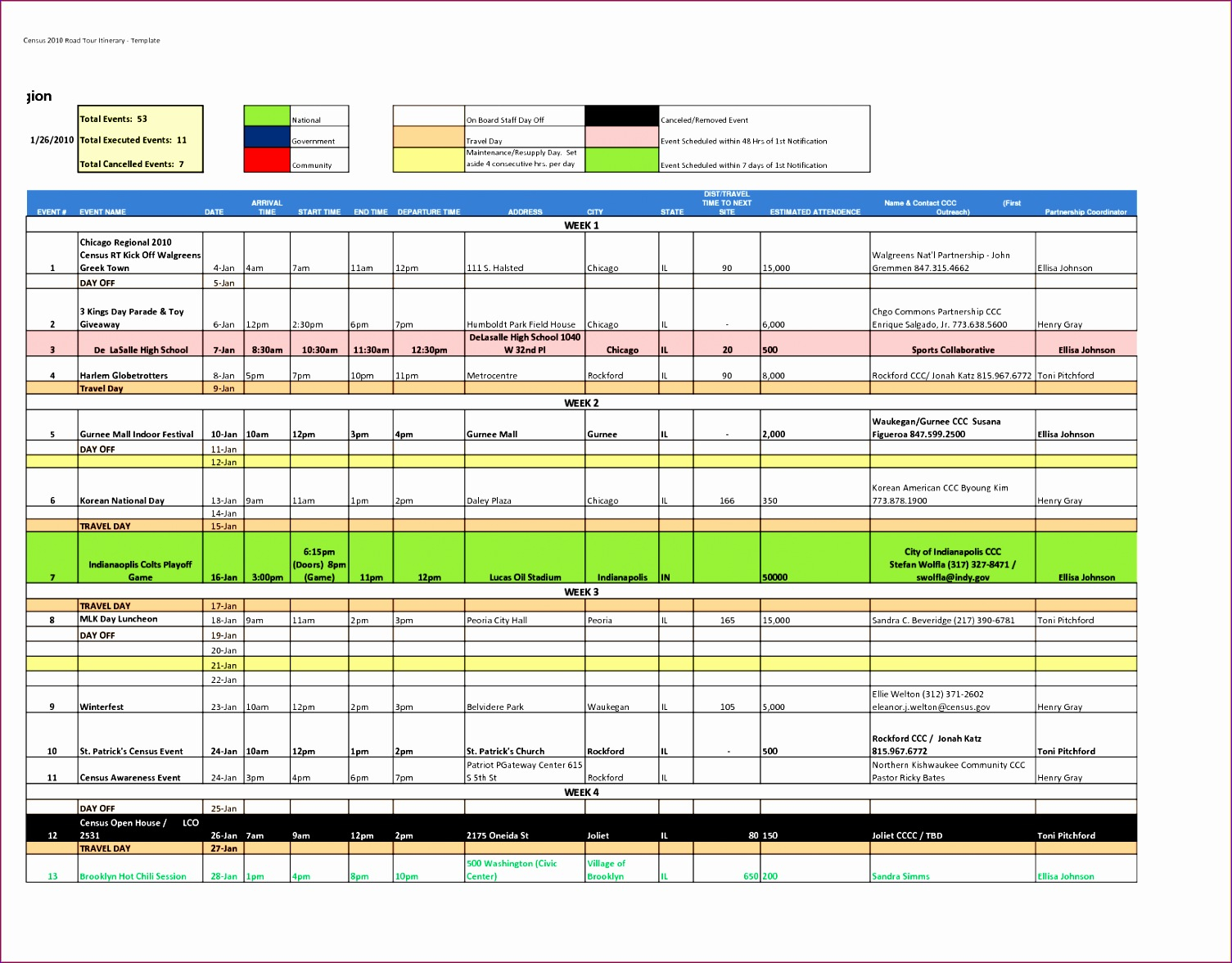 8 100 Day Plan Template Excel  Excel Templates  Excel with Excel Day Planner