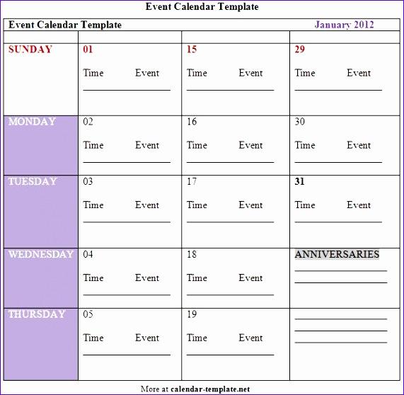 8 Excel Quarterly Calendar Template  Excel Templates for Excel Quarterly Calendar Template