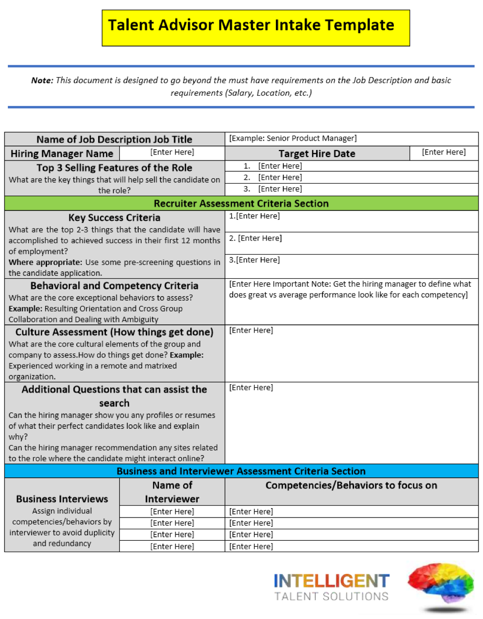 A Better Way To Assess Exceptional Vs. Average Performance pertaining to Talent Inventory Template