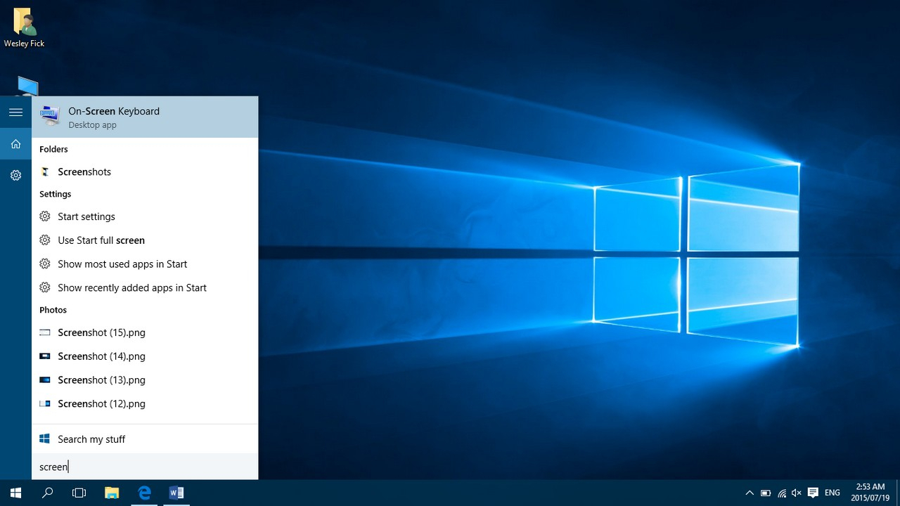 A Final Look At Windows 10 In Beta  Part 2 > Nag within How To Put Calendar On Desktop Windows 10