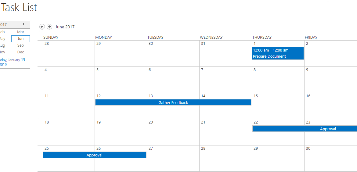 A Review Of All The Calendar Options In Sharepoint And throughout Project 365 Calendar