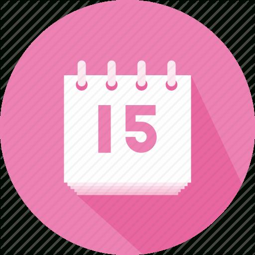 Administration, Calendar, Calendars, Fitness, Organizer with Calendar Circle Icon