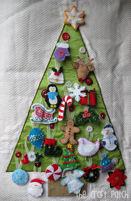 Advent Calendar  Thecraftpatchblog with regard to Jennifer Maker Advent Tree