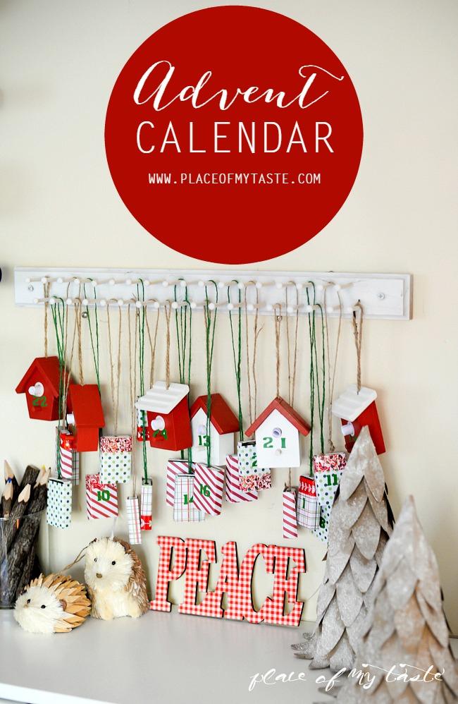Advent Calendar To Do Yourself For The Holiday Season within Xmas Advent Calendar WordPress Plugin