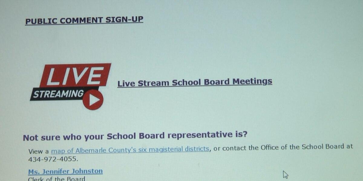 Albemarle County School Board Virtually Approves School for Albemarle County School Calendar