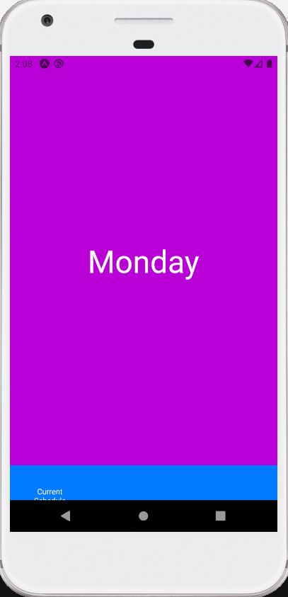 Android  Reactnative Tab Navigation Bar Cut Off  Stack inside React Native Calendar Agenda Example