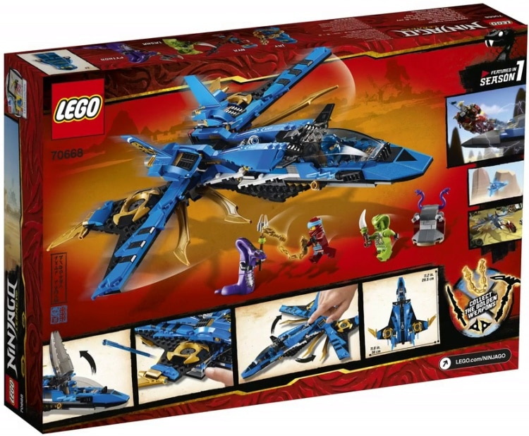 Anj'S Brick Blog: Lego Ninjago 2019 Set Images Revealed! inside Jays Brick Blog