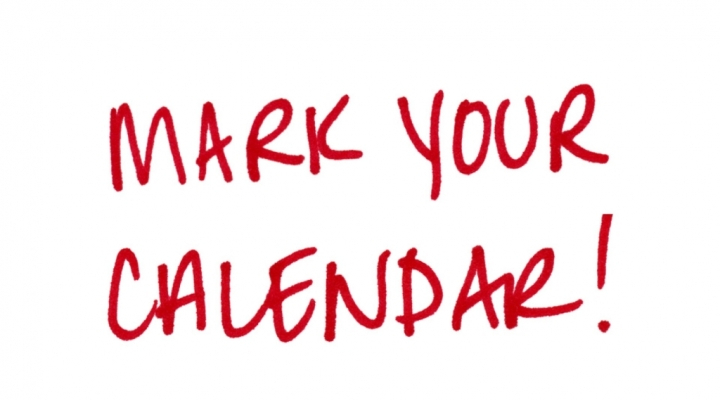 Announcements & Upcoming Events | Department Of Counselor with Please Save The Date In Your Calendar