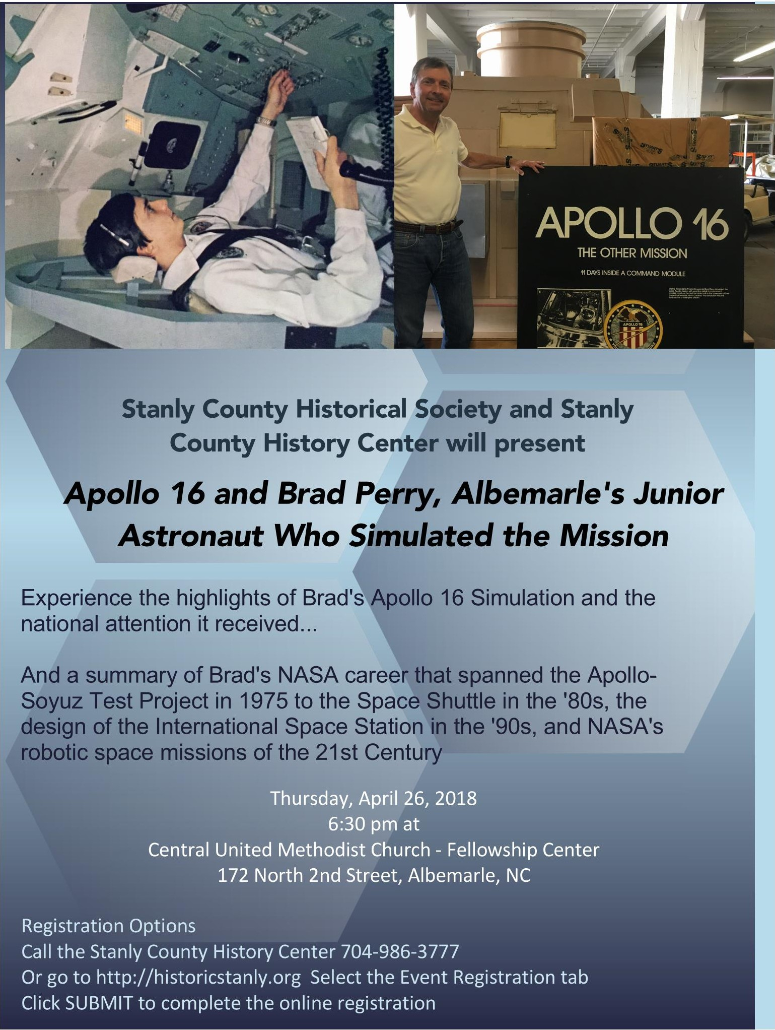 Apollo 16 & Brad Perry, Albemarle'S Junior Astronaut Who with regard to Albemarle County Calendar