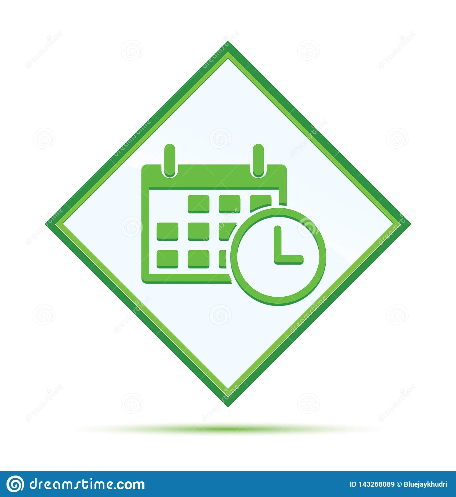 Appointment Date Calendar Icon Modern Abstract Green pertaining to Calendar Icon Green