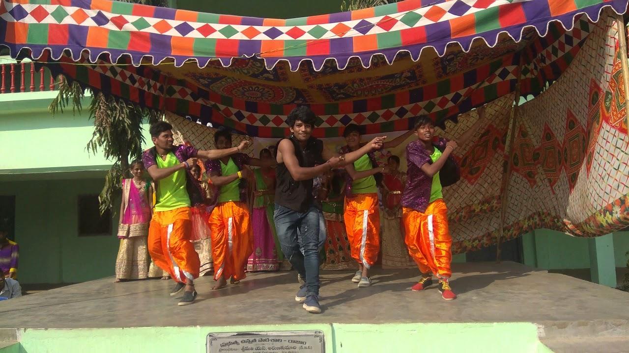 Bhogi Events In Gh School ,Rajam  Youtube inside Gh Dawe School