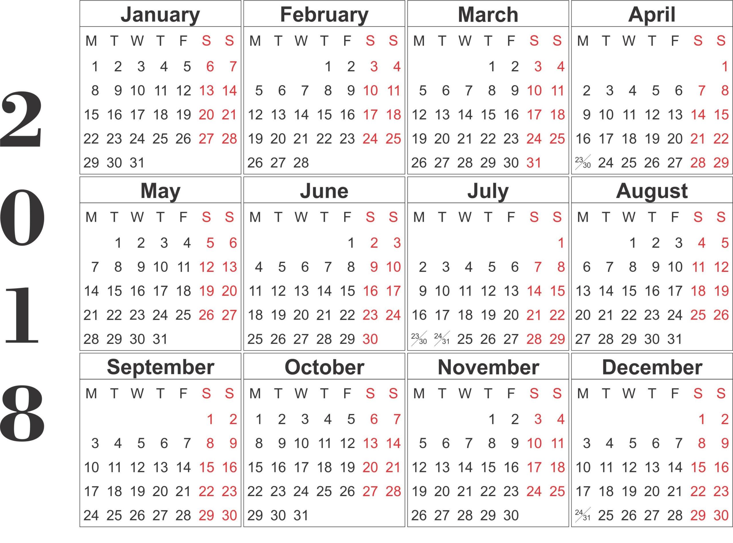 Blank 12 Month Calendar Printable :Free Calendar Template pertaining to Blank 12 Month Calendar