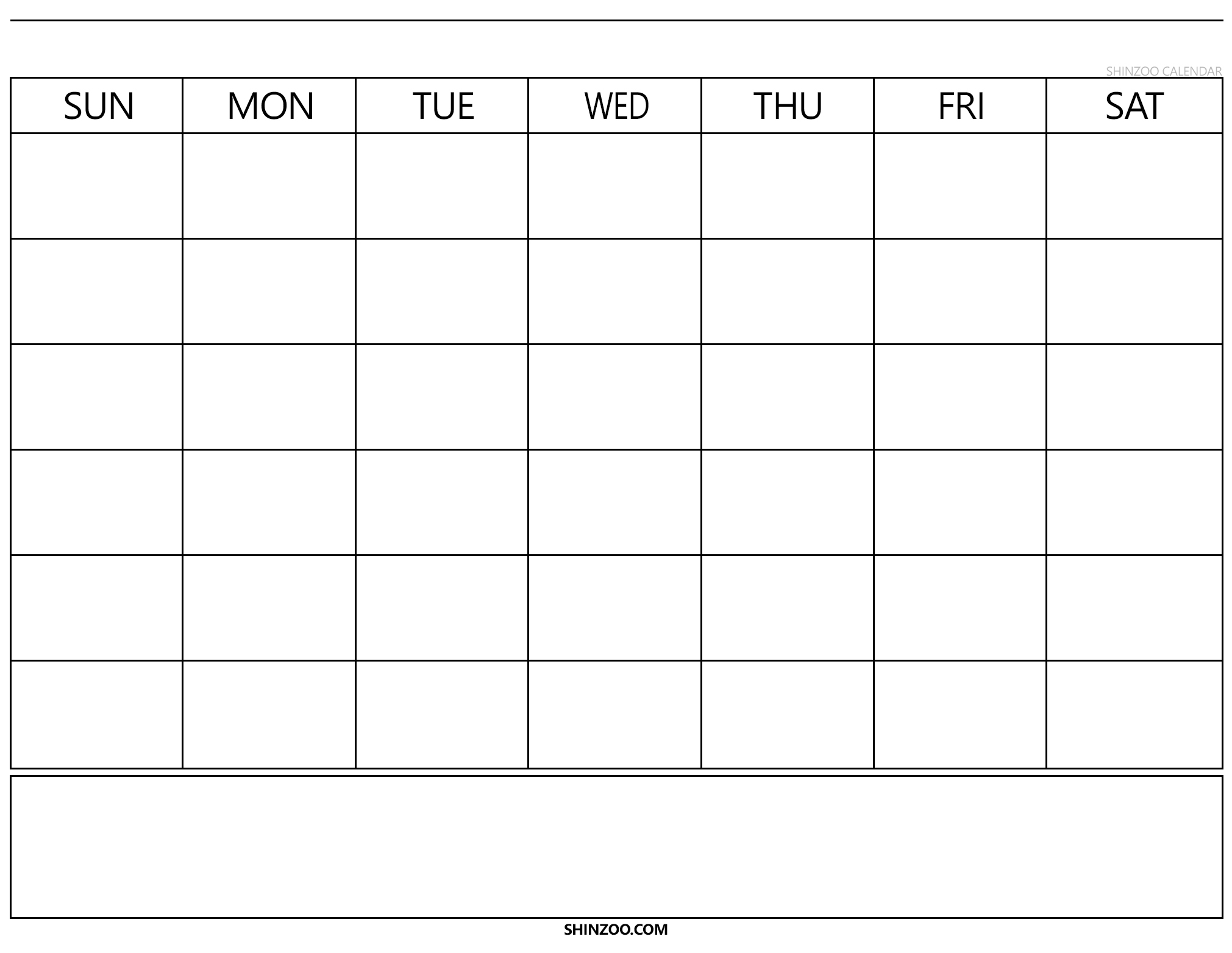 Blank Calendar 2019 2020 To Fill In  Calendar Inspiration in Calendar To Fill In