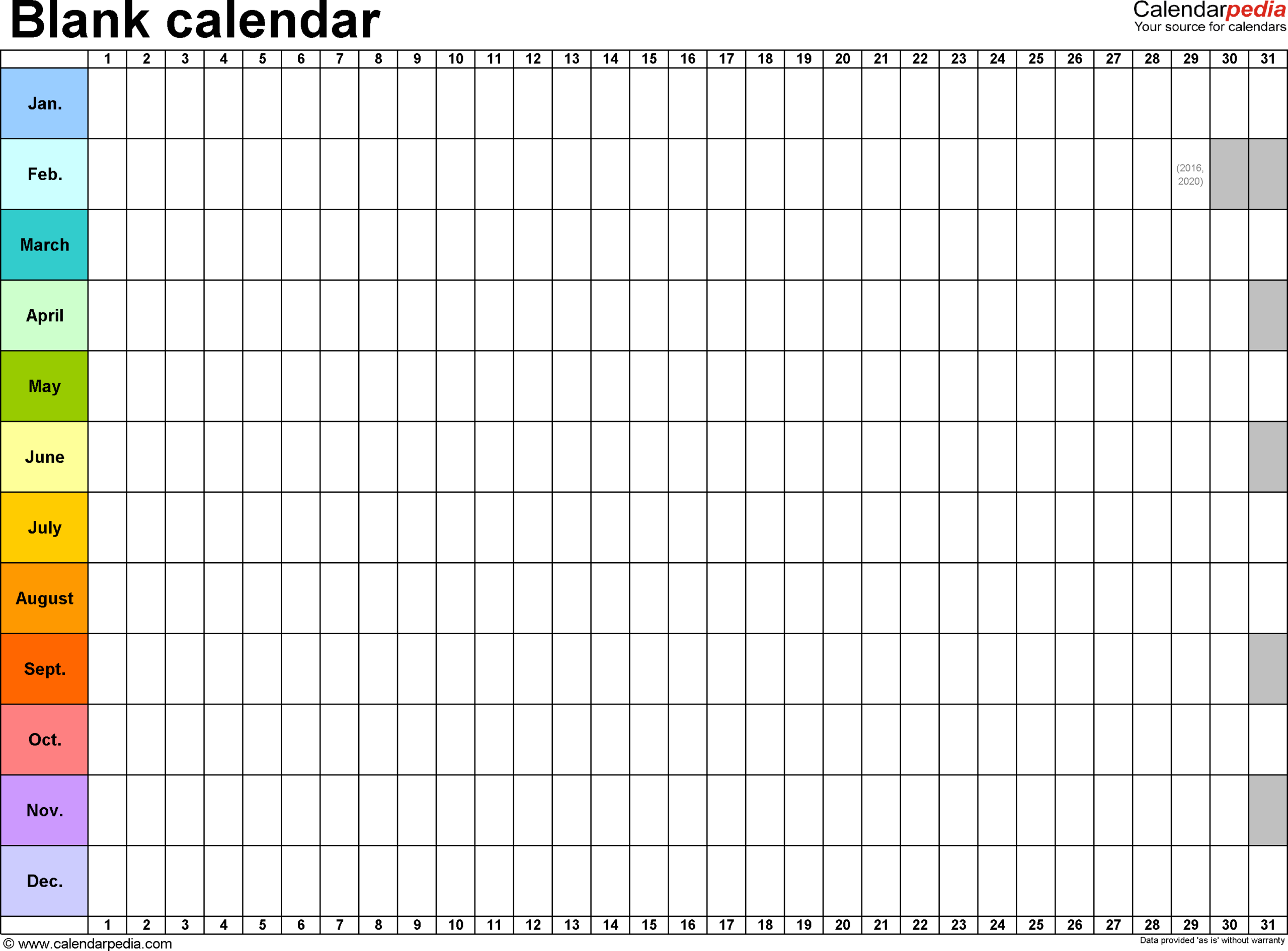 Blank Calendar Print Out | Blank Calendar Template pertaining to Blank Monthly Calendar With Lines