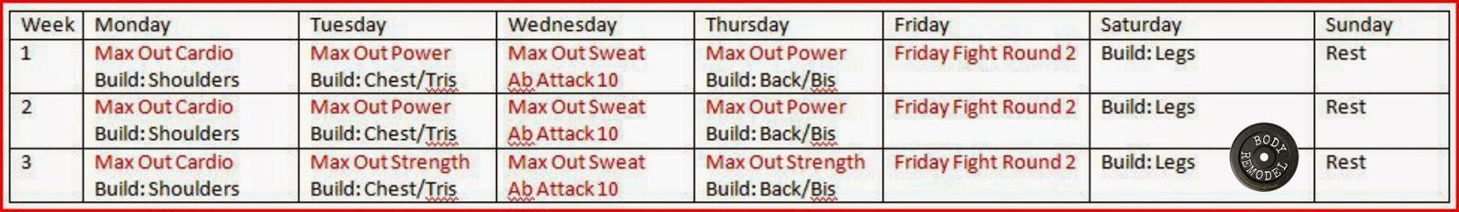 Body Remodel: Beast Up And Max Out  Hybrid within Body Beast Insanity Max 30 Hybrid