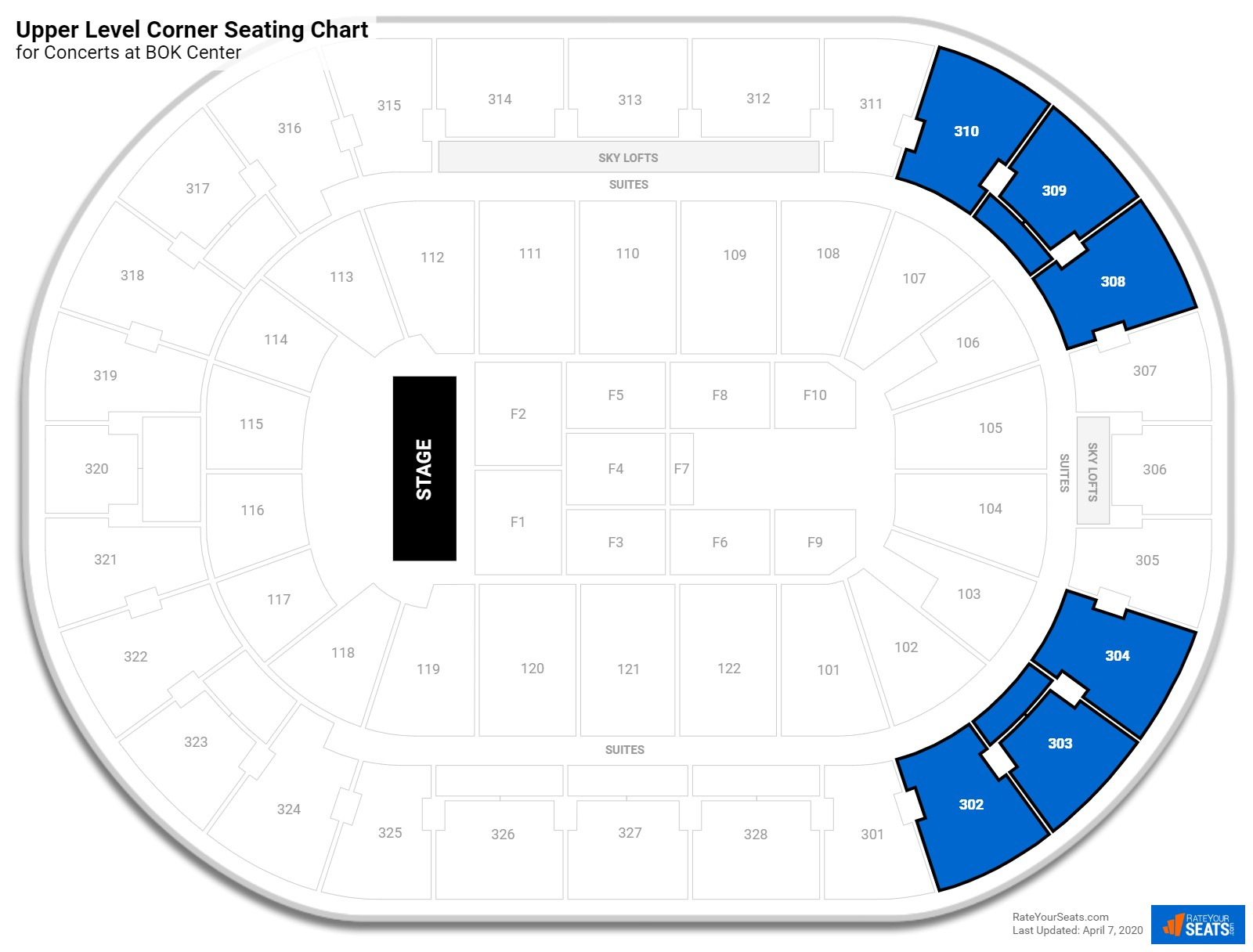 Bok Center Seating For Concerts  Rateyourseats throughout Bok Center Seating Chart Detailed
