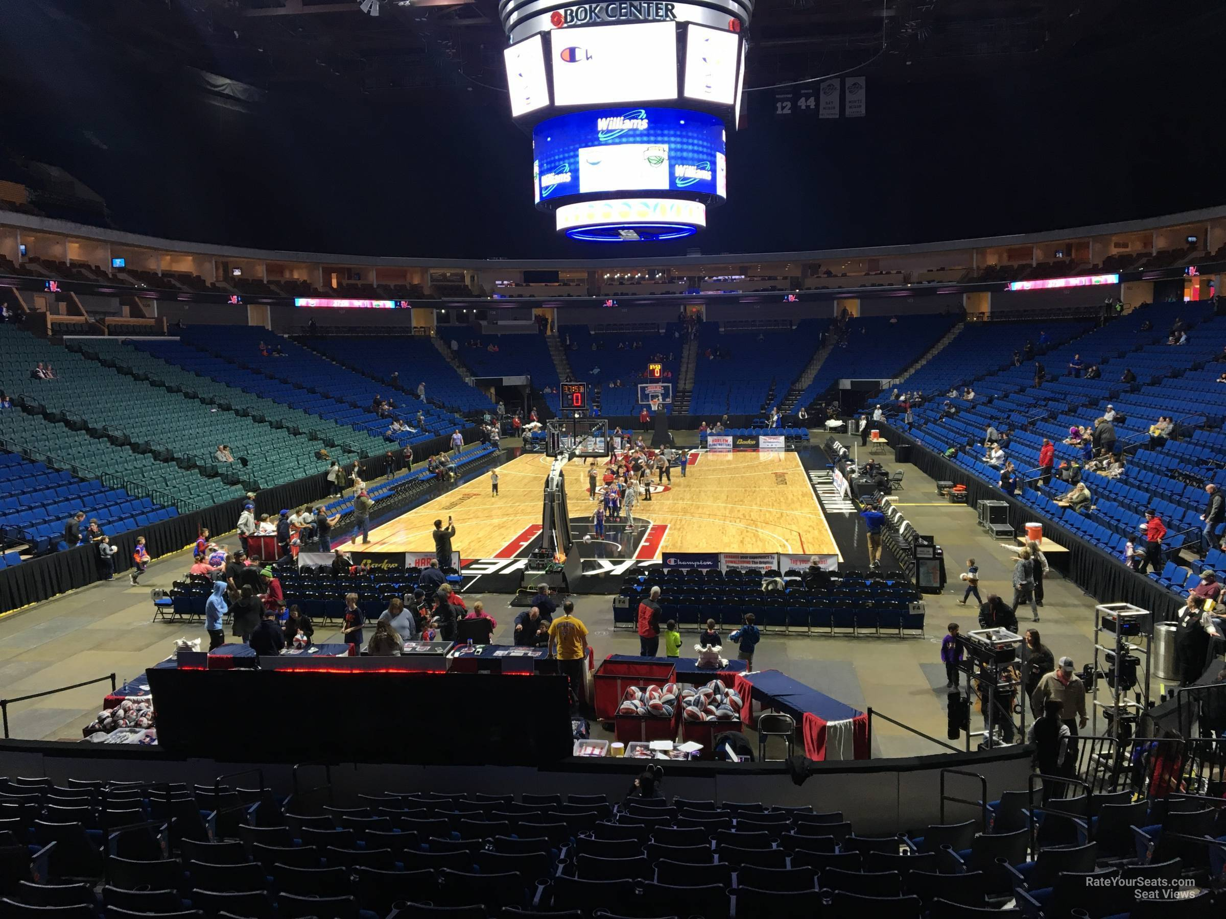Bok Center Section 116 Basketball Seating  Rateyourseats with Bok Center Seating Chart With Numbers