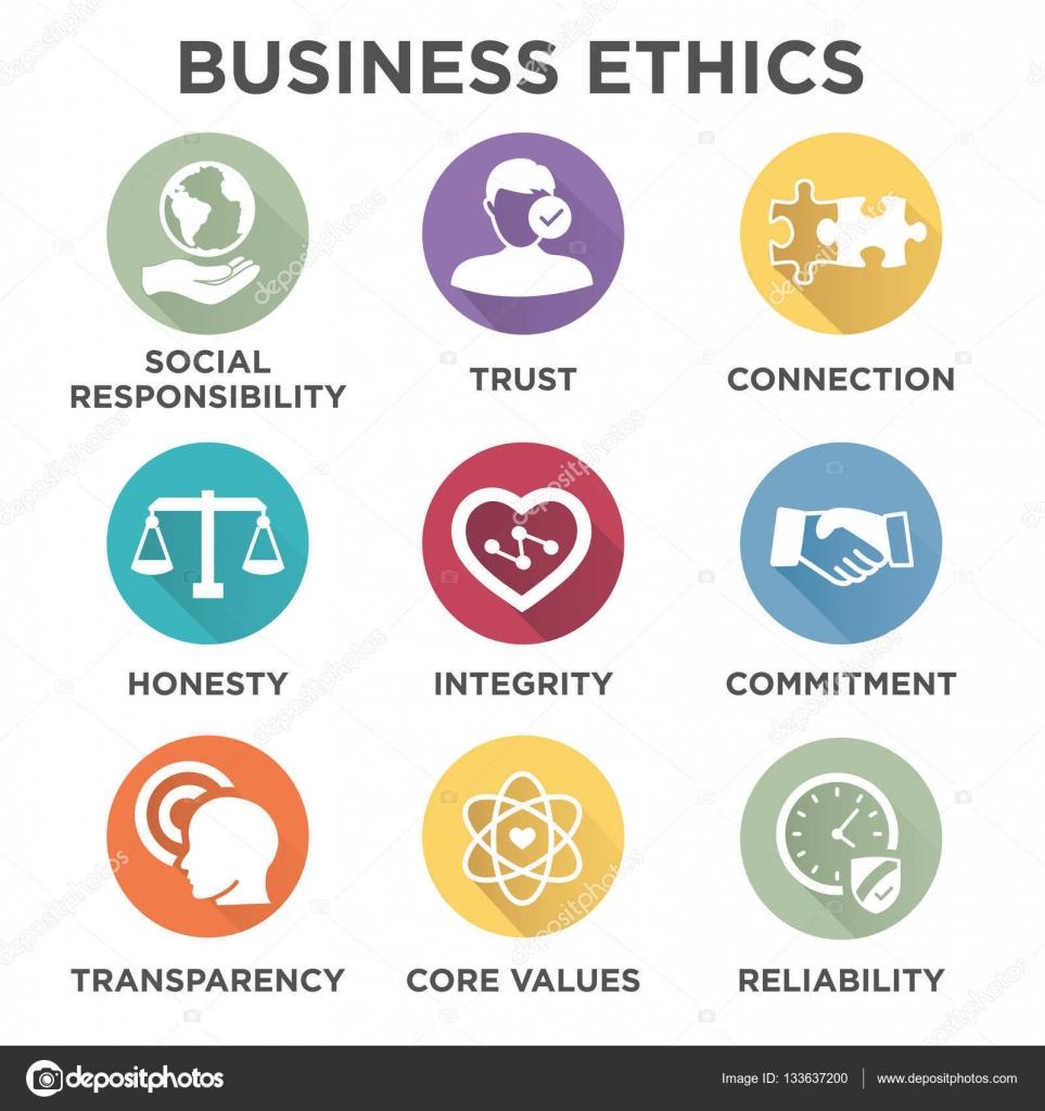 Business Ethics Solid Icon Set — Stock Vector © Bearsky23 regarding Yahoo Calendar Icon