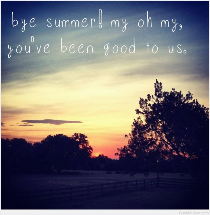 Bye Summer Quotes Di 2020 inside Goodbye Summer Hello Fall Wallpaper