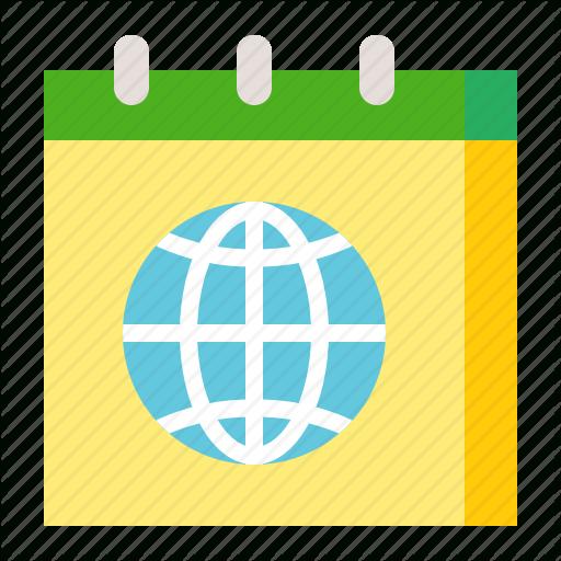 Calendar, Earth Day, Ecology, Environmental Protection with regard to Calendar Icon Green