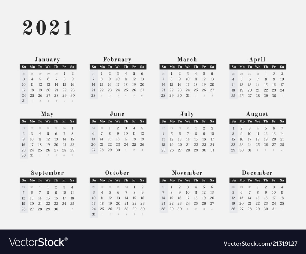Calendar For Year 2021 | 2020Calendartemplates regarding 2021 Calendar Hong Kong