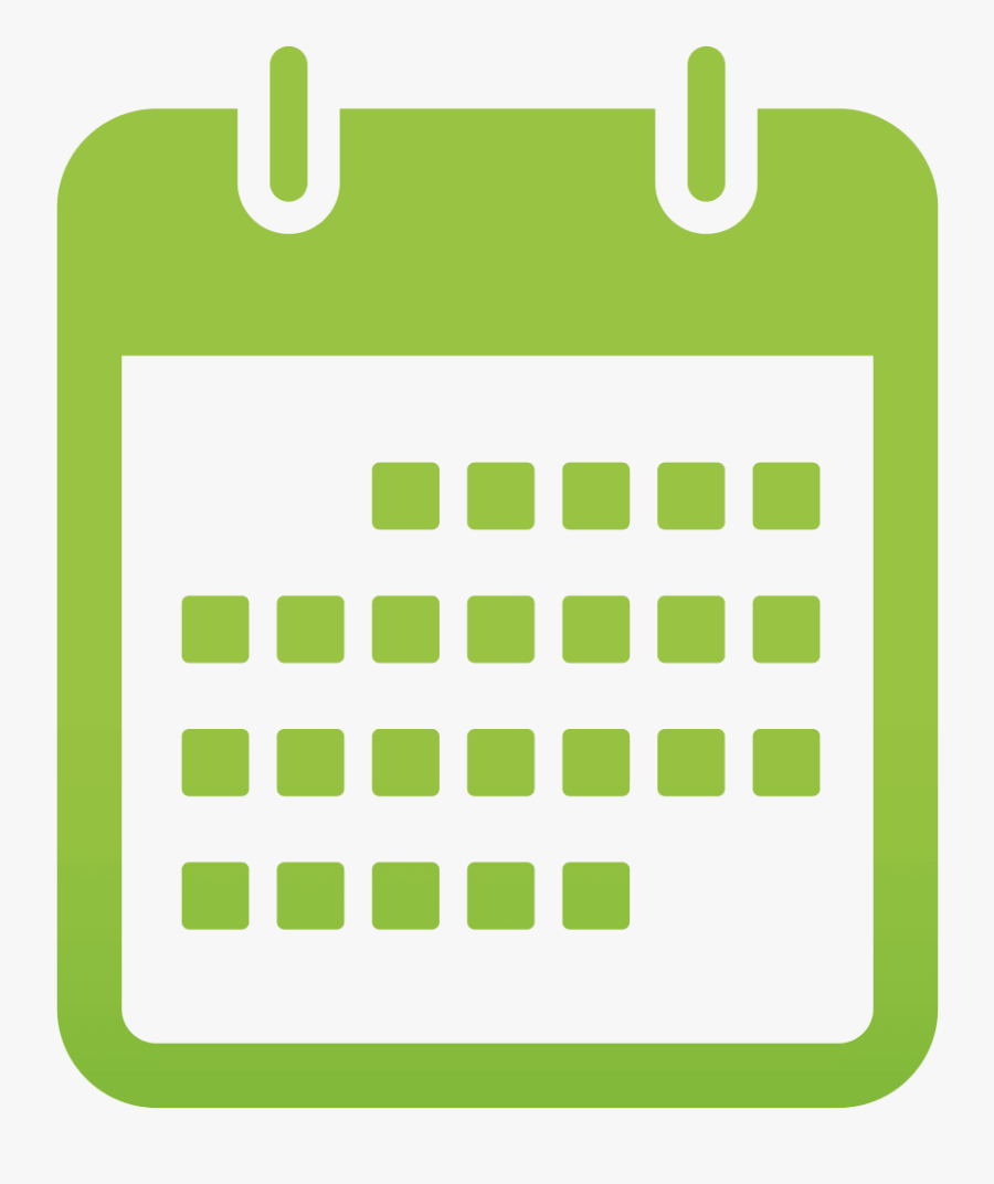 Calendar Free Download Png  Date Icon Png Green , Free throughout Calendar Icon Green