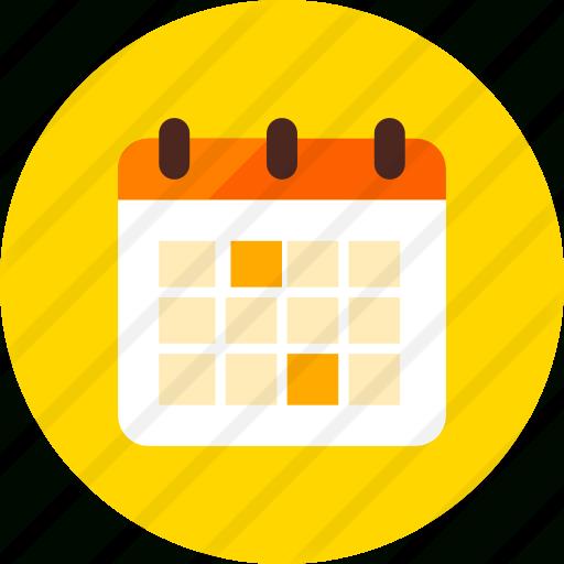 Calendar  Free Interface Icons for Calendar Circle Icon