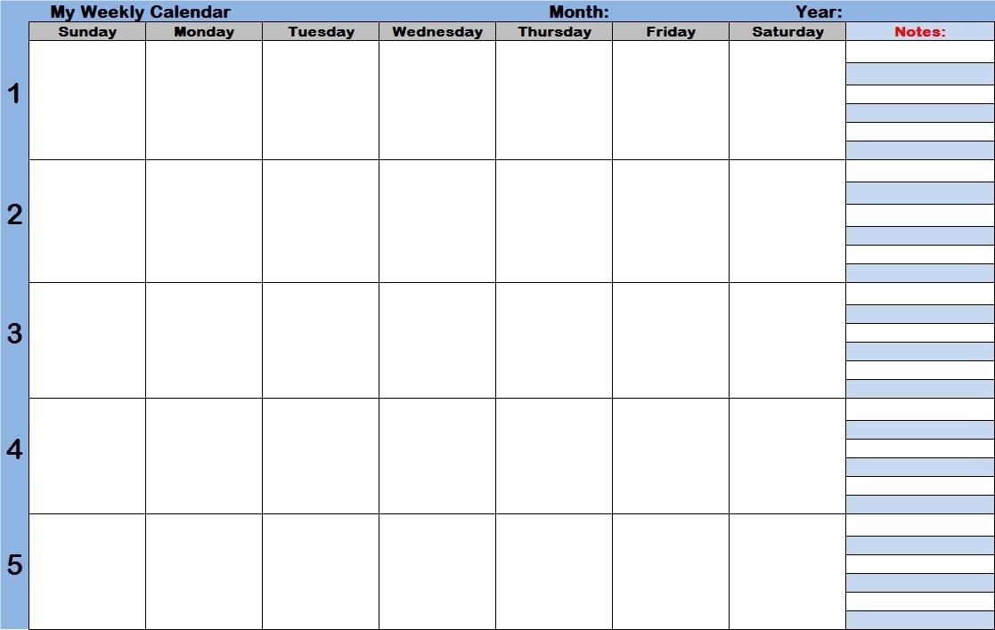 Calendar Template With Time Slots  Calendar Inspiration within Printable Calendar With Time Slots