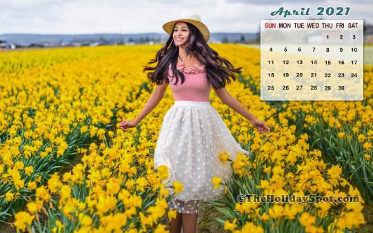 Calendar Wallpaper  April 2021  Wallpapers From in Khmer Calendar 2021 Wallpaper