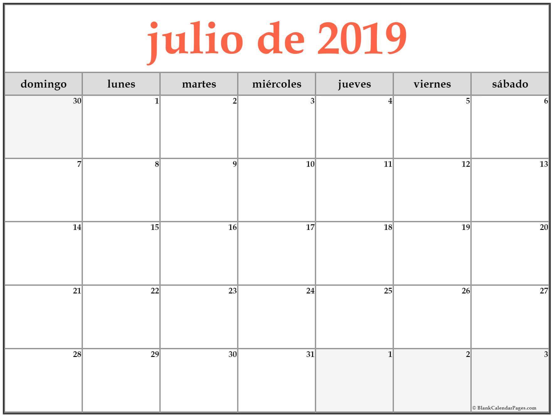 Calendario Lunar Julio 2019 Nicaragua throughout Lunar Calendar Puerto Rico