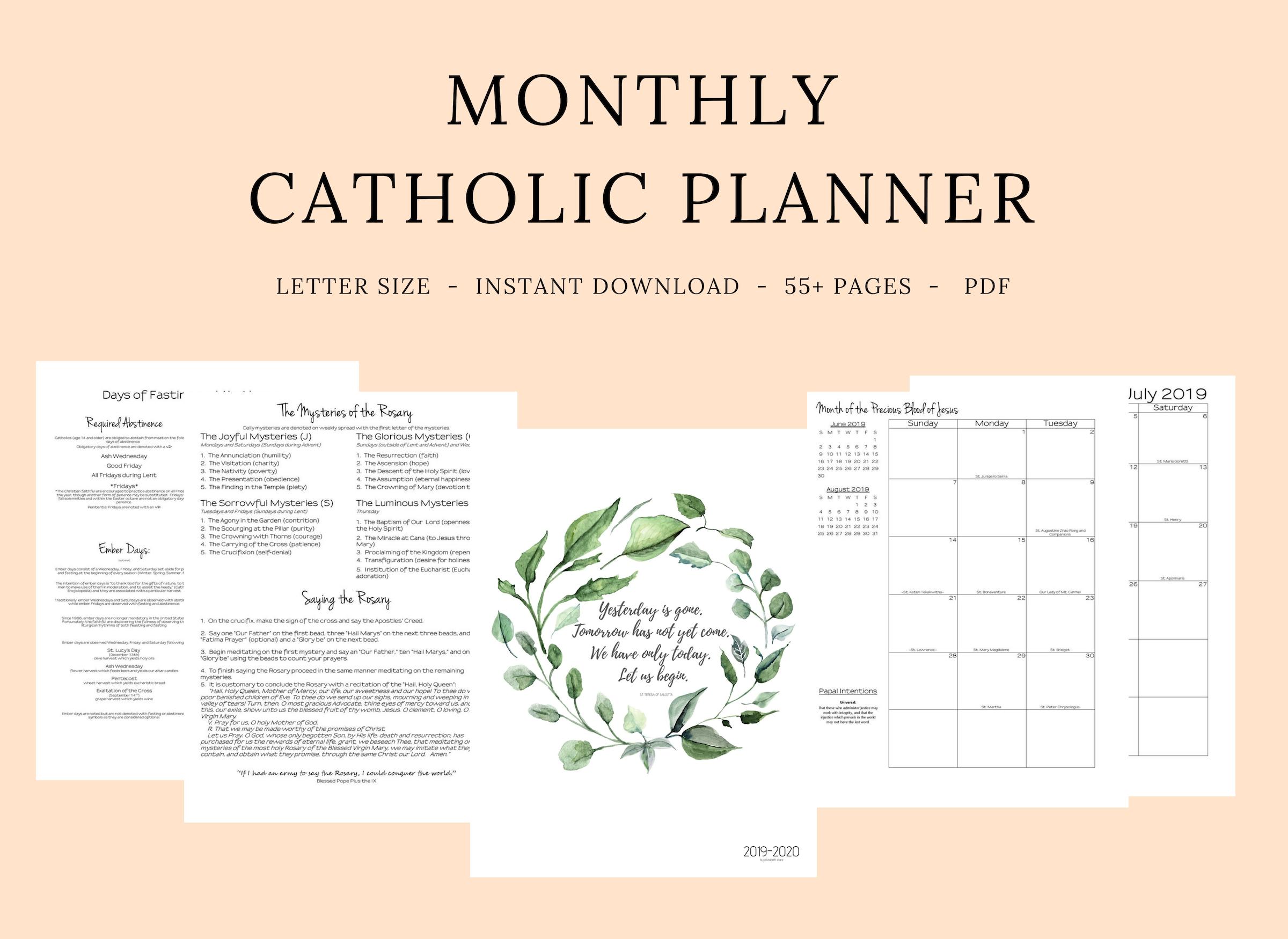 Catholic Liturgical Calendar 2020 Pdf  Calendar regarding Printable Catholic Liturgical Calendar