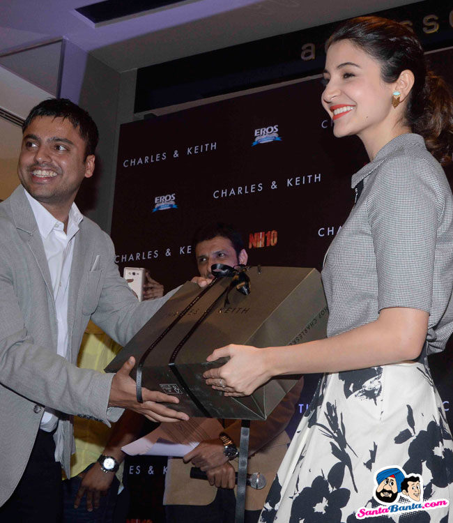 Charles And Keith Nh 10 Collection Launch  Anushka inside Vikram Sawant Calendar