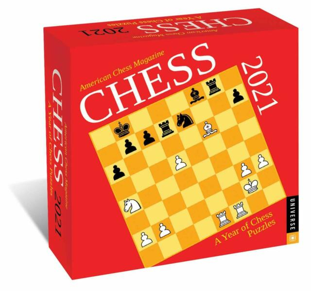 Chess 2021 Daytoday Calendar : A Year Of Chess Puzzles within Empires And Puzzles Events Calendar 2021