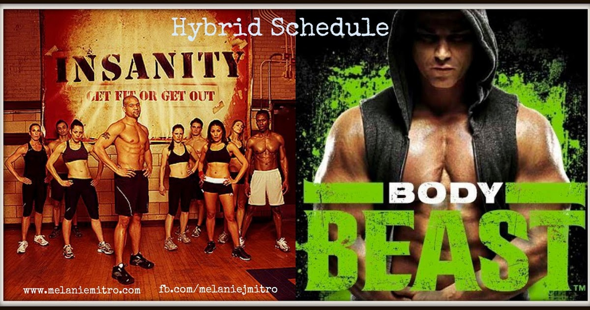 Committed To Get Fit: Body Beast Insanity Hybrid Schedule inside Body Beast Insanity Max 30 Hybrid