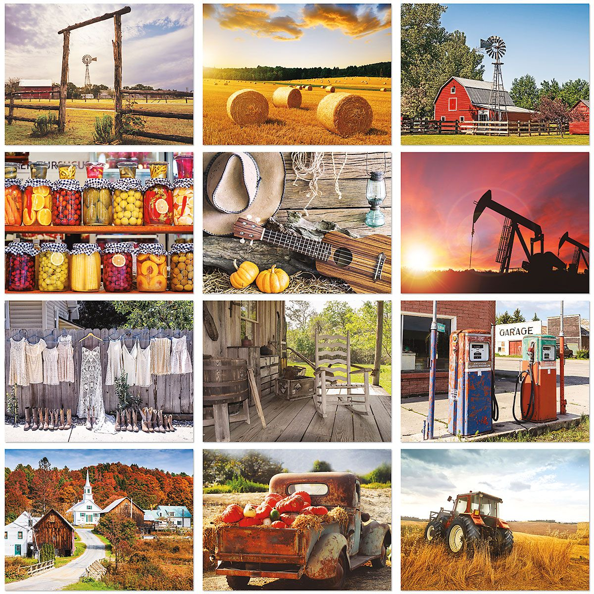 Country Days Wall Calendar 2021   Colorful Images for Empires And Puzzles Events Calendar 2021