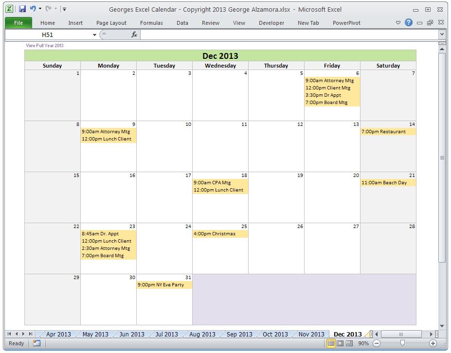 Create A Monthly Calendar  Calendar Template 2020 pertaining to Quarterly Calendar Excel