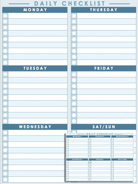 Daily Checklist Template | Daily Schedule Template regarding Most Goals In A Calendar Year