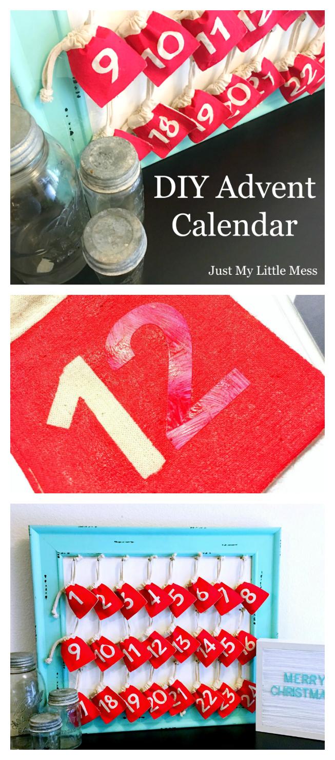 Diy Advent Calendar  Eighteen25 inside Xmas Advent Calendar WordPress Plugin