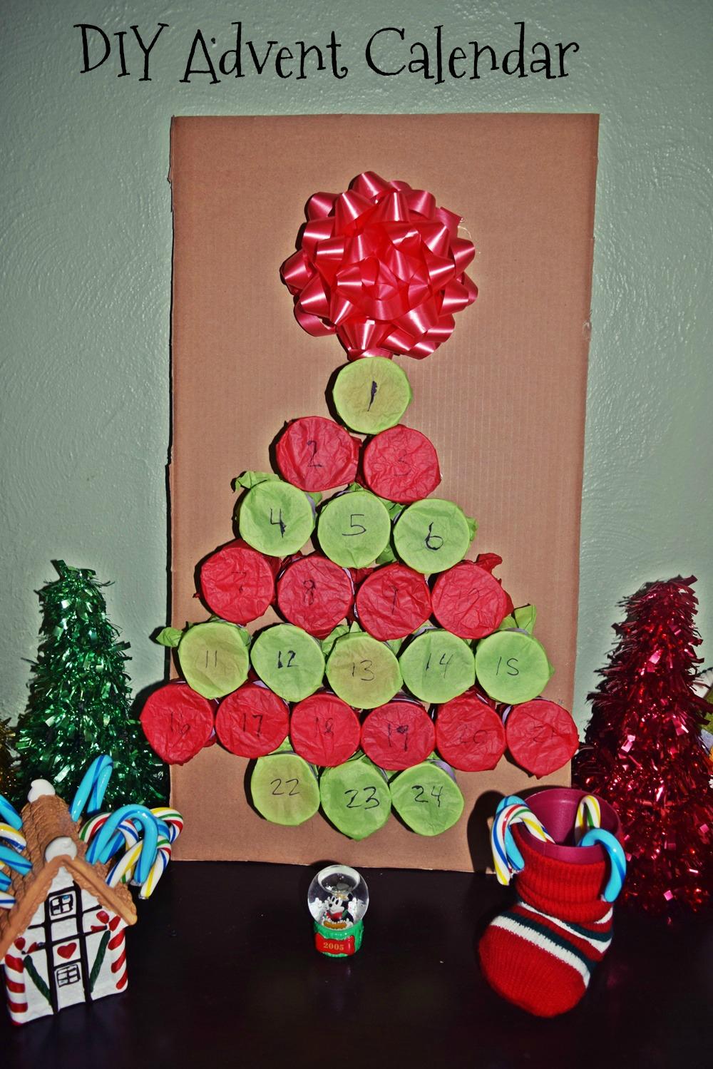 Diy Holiday Tree Advent Calendar  Life With Kathy for Xmas Advent Calendar WordPress Plugin