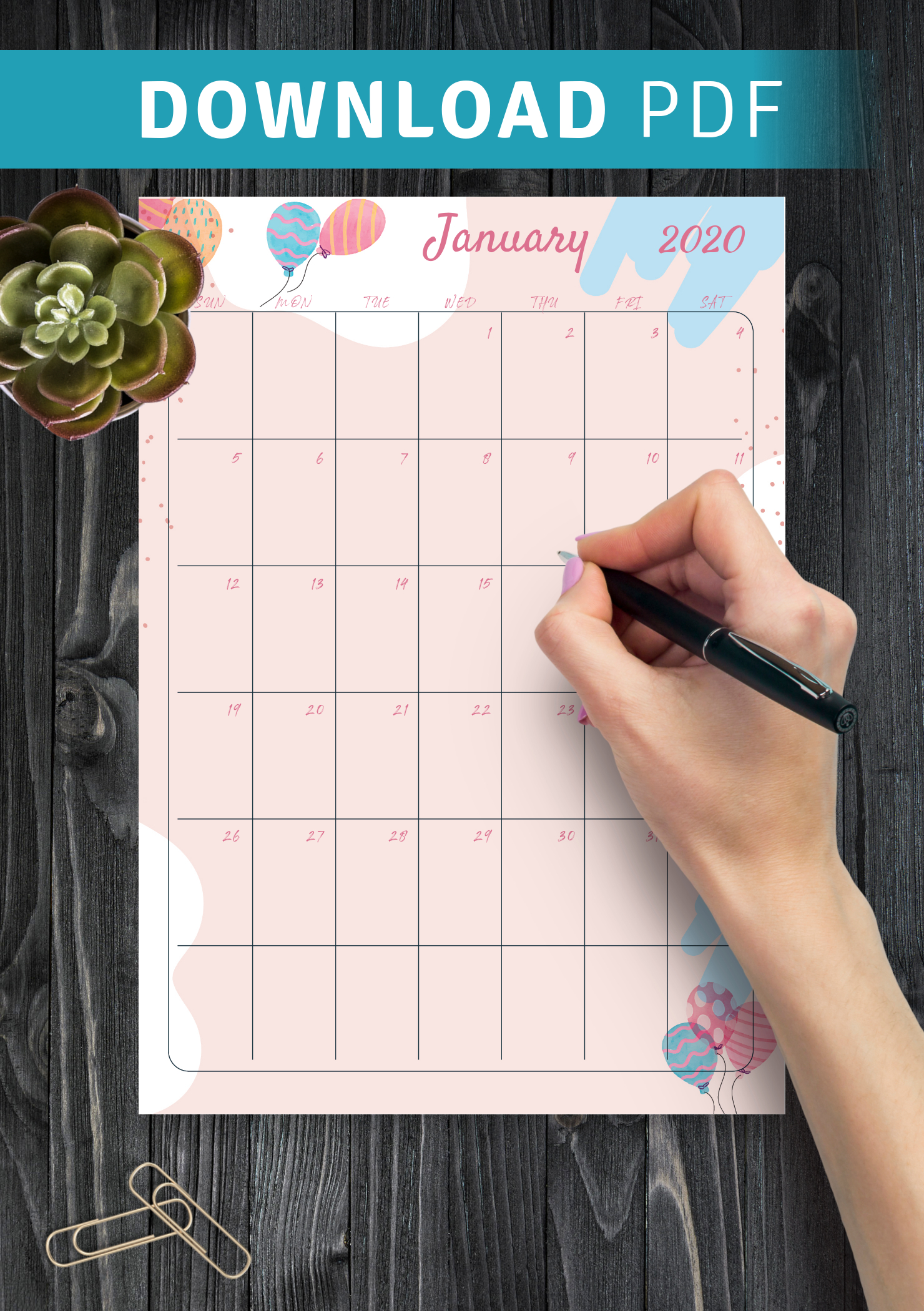 Download Printable Pink Monthly Birthday Calendar Pdf intended for Birthday Calendar Template For Classroom