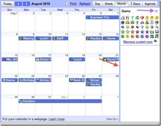 Dress Up Your Google Calendar With Event Flairs pertaining to Add Image To Google Calendar Event