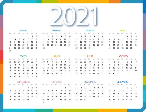 ᐈ Calendar 2021 Stock Vectors, Royalty Free 2021 Calendar with regard to 2021 Calendar Hong Kong