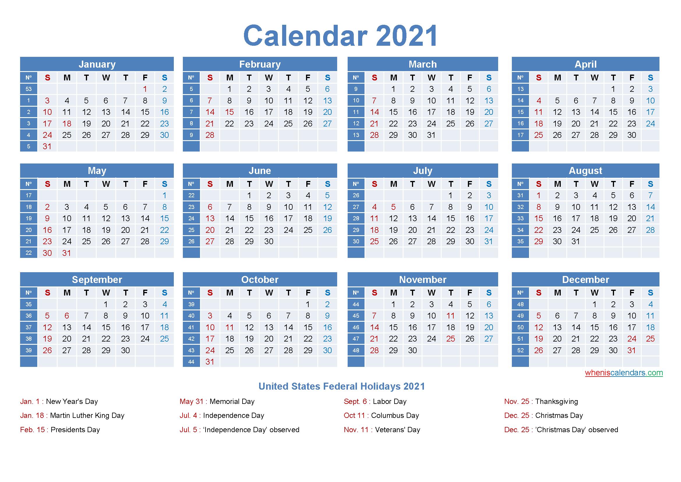 Editable Printable Calendar 2021 Word  Template No.ep21Y8 throughout Printable 3 Months At A Time Calendar 2021