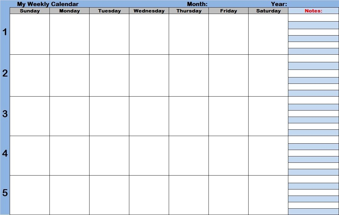 Effective Free Weekly Agenda Templates With Time Slots inside Printable Daily Planner With Time Slots
