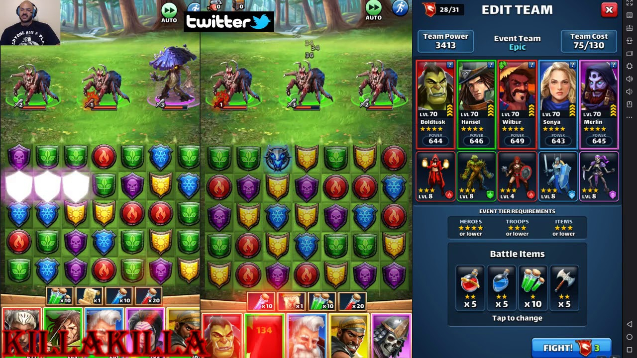 Empires & Puzzles 4 Star Epic Event Run Complete  Youtube within Event Schedule Empires And Puzzles