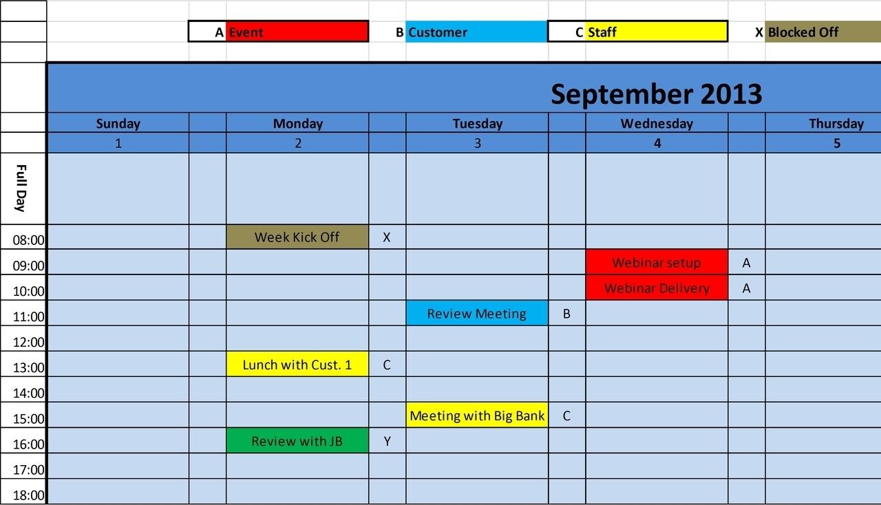 Excel Monthly Calendar Template :Free Calendar Template regarding Quarterly Calendar Excel