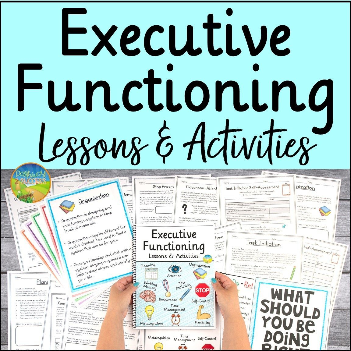 Executive Functioning Resources In 2020 | Executive inside Executive Functioning Activity Worksheets