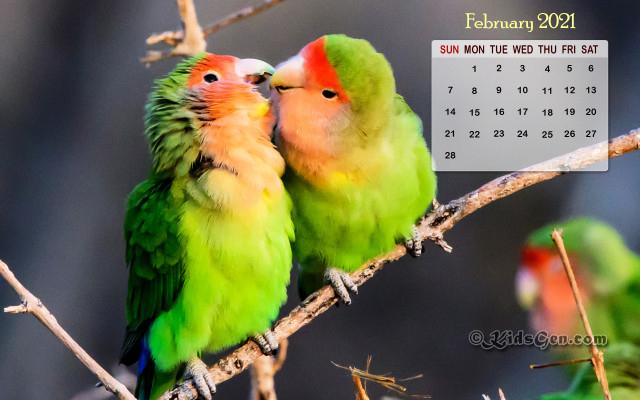 February Calendar Wallpaper  2021 inside Khmer Calendar 2021 Wallpaper