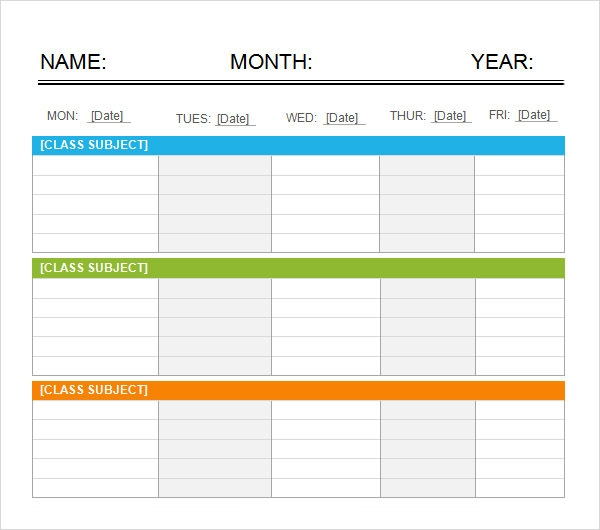 Free 7+ Weekend Scheduled Samples In Google Docs | Ms Word intended for Blank Calendar 5 Day Week